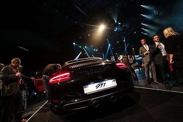 Präsentation des neuen Porsche 911